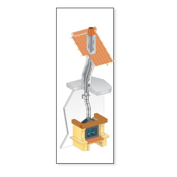 Conduit de cheminée flexible