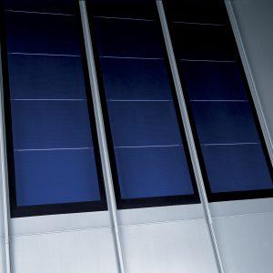 Couverture à joint debout / Couverture photovoltaique